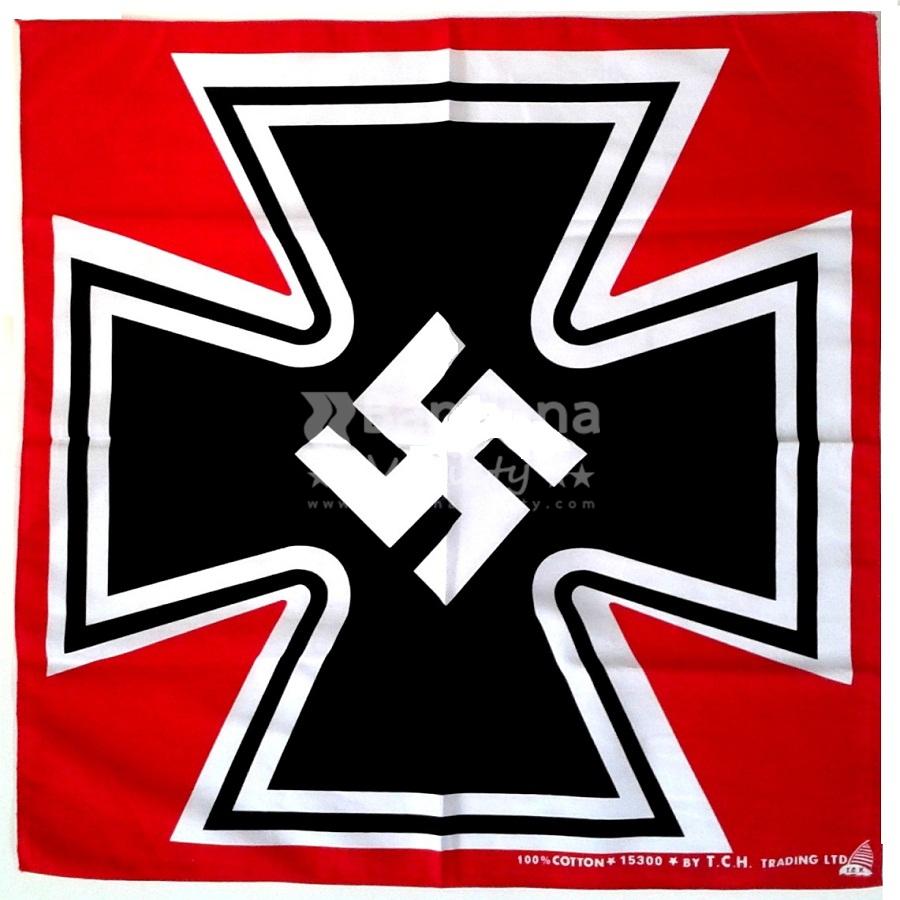 Nazi Cross Swastika Bandana Variety