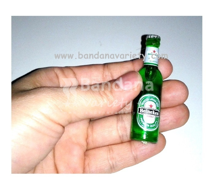 miniature heineken beer fridge magnet 3d bandana variety. Black Bedroom Furniture Sets. Home Design Ideas